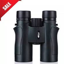 BIJIA 10x42 Binoculars Military HD High Power Telescope Professional Hunting Outdoor Sport Travel Scope Army Green стоимость