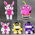 5 styles New Mangle FNAF Five Nights at Freddy FNAF Chica Foxy Bear Bonnie Freddy Fazbear Cupcake Plush Toy Stuffed Animal Dolls