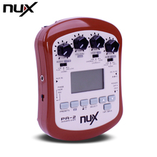NUX PA-2 Portable Acoustic Guitar Multi-Effects Pedal Processor Flat Tuning Function стоимость