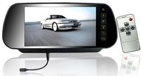 7 Inch TFT LCD Rearview Mirror Monitor Bluetooth Touch Button