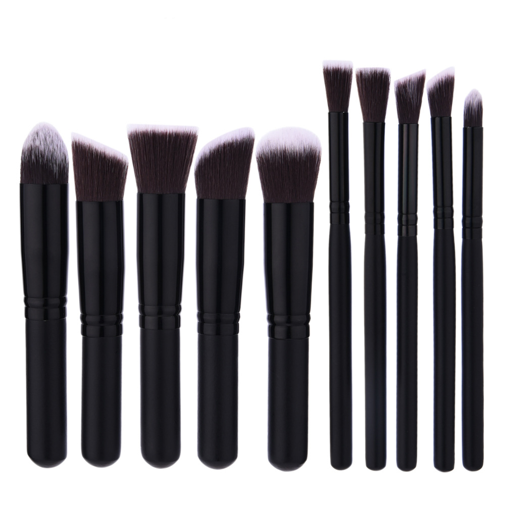 2017 Superior mini Professional Soft Cosmetic Make up Brush Set Woman's Toiletry Kit beauty makeup brushes kabuki blush brush