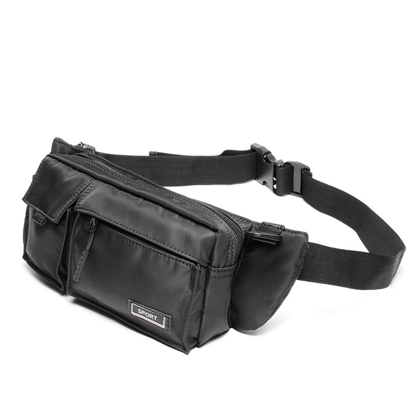 Fashion Men Waist Bag Messenger Bags Leather Phone Pouch Casual Travel Crossbody Shoulder Bags Small Waist Bag For Men 2019