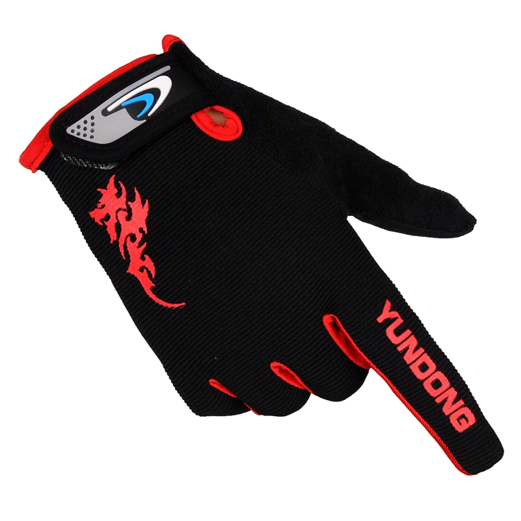 Spike Full Finger Gloves Non Slip men and women sports climbing fitness outdoor bicycle riding long finger gloves pro biker mcs 01a motorcycle racing full finger protective gloves blue black size m pair