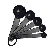 5 шт./компл. Творческий Мерная Ложка силиконовая половник с мерной шкалой для выпечки Пособия по кулинарии Кухня Кофе инструменты со шкалой Кухня инструменты