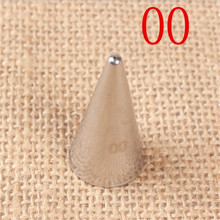 цена на #00 0.6mm Writer Tube Stainless Steel Icing Piping Nozzles Pastry Tips Cake Decorating Tools Dessert Decorators