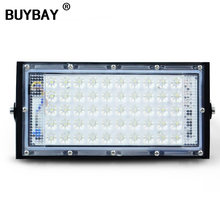 BUYBAY LED Module Flood Light Outdoor led 50W Free Combi Floodlight Street Lamp Landscape Spotlight Projector Foco Led Exterior(China)