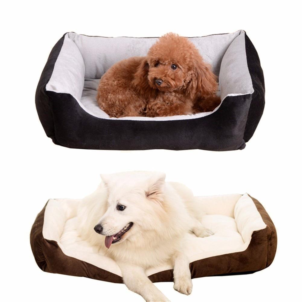 1 stks 30 * 40 * 15/40 * 50 * 15 Huisdieren Hond Kat Bed Pluche - Producten voor huisdieren - Foto 6