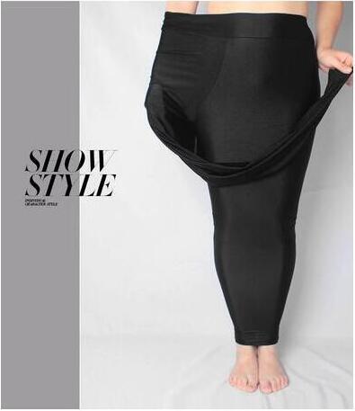 Nueva Faux Leather Leggings Moda Sexy Cintura alta Material del - Ropa de mujer - foto 2