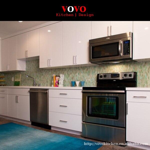 gabinetes de cocina ventas calientes modernos muebles de cocina de alto brillo lacado blanco