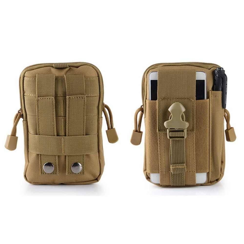 Outdoor Camping Taille Tasche Männer Military Tactical Rucksack Beutel Gürtel Taschen Weiche Sport Lauf Travel Taschen