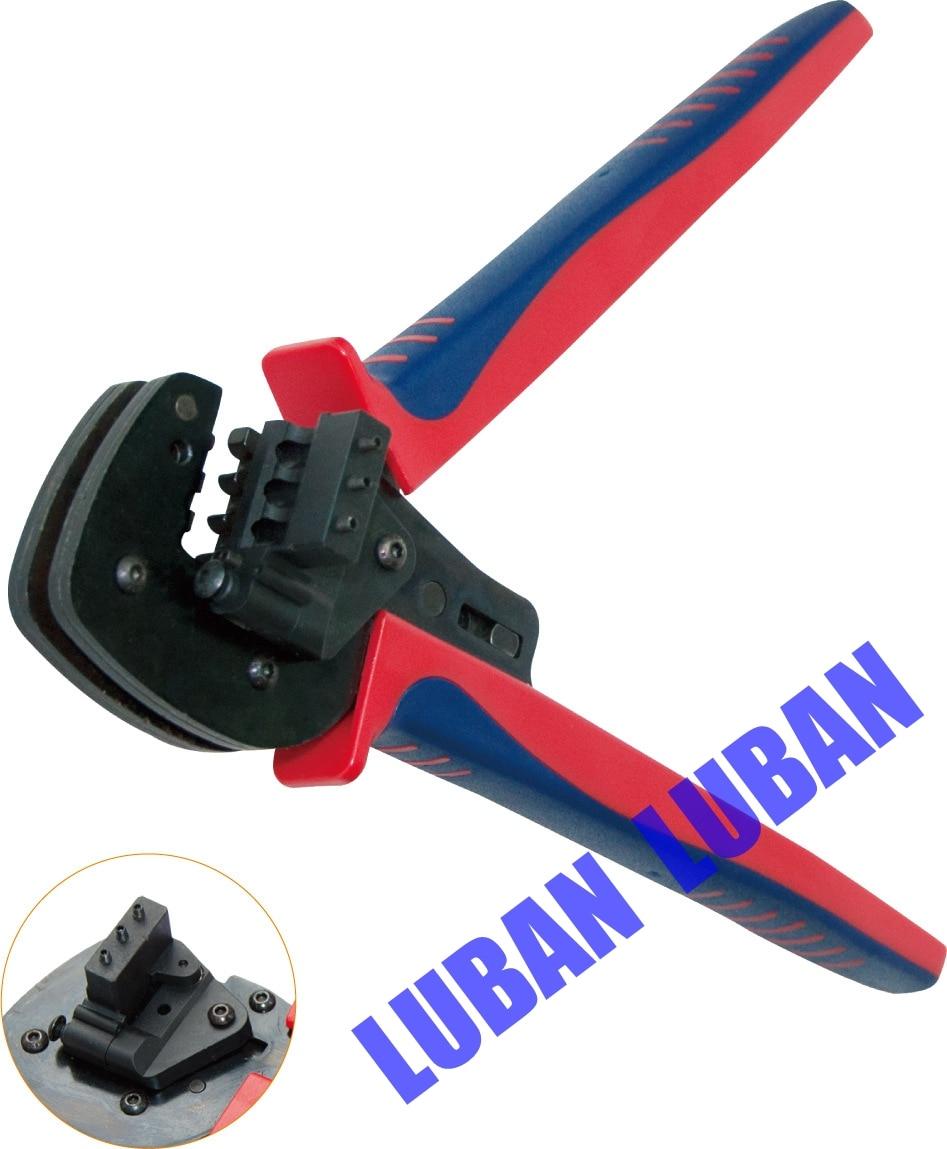 DR-2546B ( A-2546B MC4 ) Crimping Plier Ratchet Crimping Tool crimping plier 0.25-6mm pro skit cp 376m modular crimping tool 225mm 4p 6p 8p ethernet cable crimping plier 3 1 ratchet crimping plier