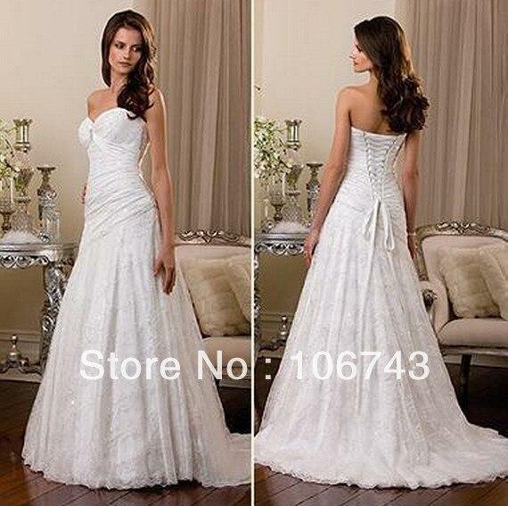 Livraison gratuite vendeur chaud nouveau design marque blanc chérie perle paillettes à lacets bonne robe de mariée maggie 2018 robes de demoiselle d'honneur