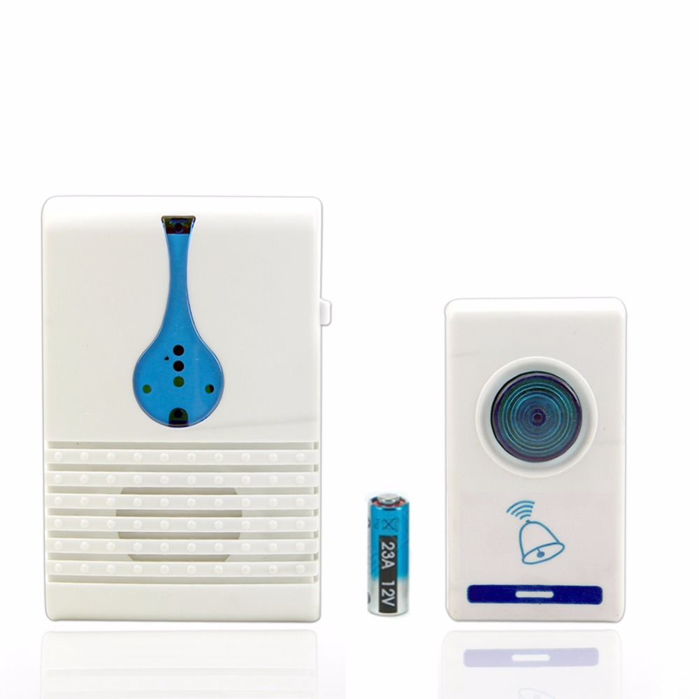 Wireless Remote Control 32 Tune Songs Chime 100M Range Home Door Bell Doorbell