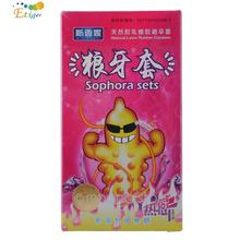 12pcs Latex Sophora Sets Condoms, Penis Delay Rings Condom Contraception Tools Sex Products for Men Penis Sex Toys