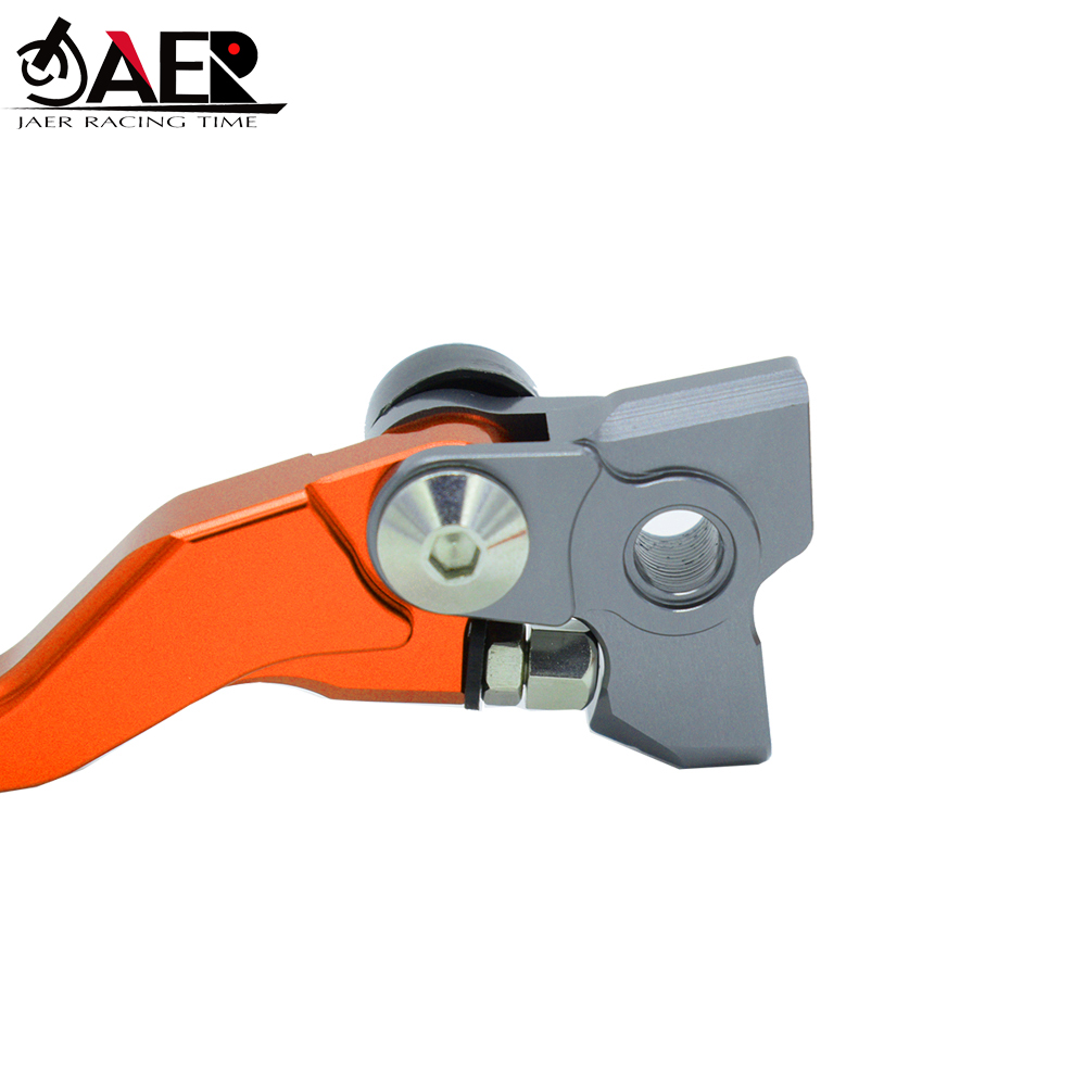 Image 5 - JAER CNC Pivot Foldable Clutch Brake Lever For KTM SX EXC XCW 125 150 200 2014 2015 2016-in Levers, Ropes & Cables from Automobiles & Motorcycles