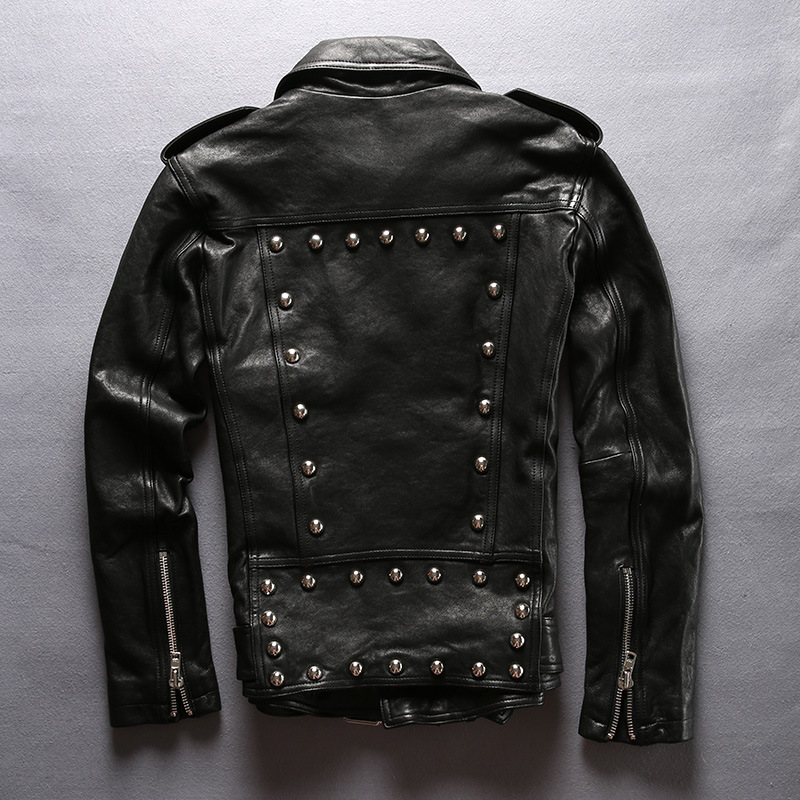 Jacket Sheepskin Genuine Men