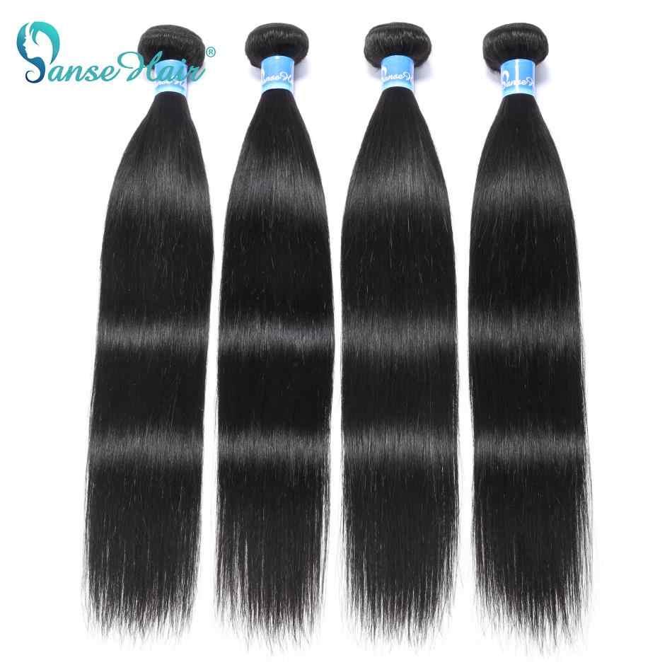 Panse Hair, малазийские человеческие волосы для наращивания, прямые волосы на заказ, 8-30 дюймов, не Реми, можно окрашивать, 1B, 1 шт. в партии