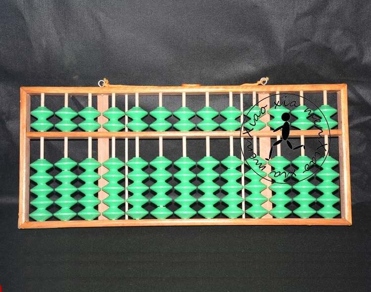 13 colonne non-slip bois Abacus Professionnel Chinois soroban Outil Dans L'enseignement Des Mathématiques pour le professeur, banque, comptable X059
