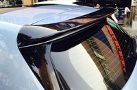 For Peugeot 308 308S Hatchback 2014 2017 Rear Wing Spoiler, Trunk Boot Wings Spoilers paint color ABS 3m Paste