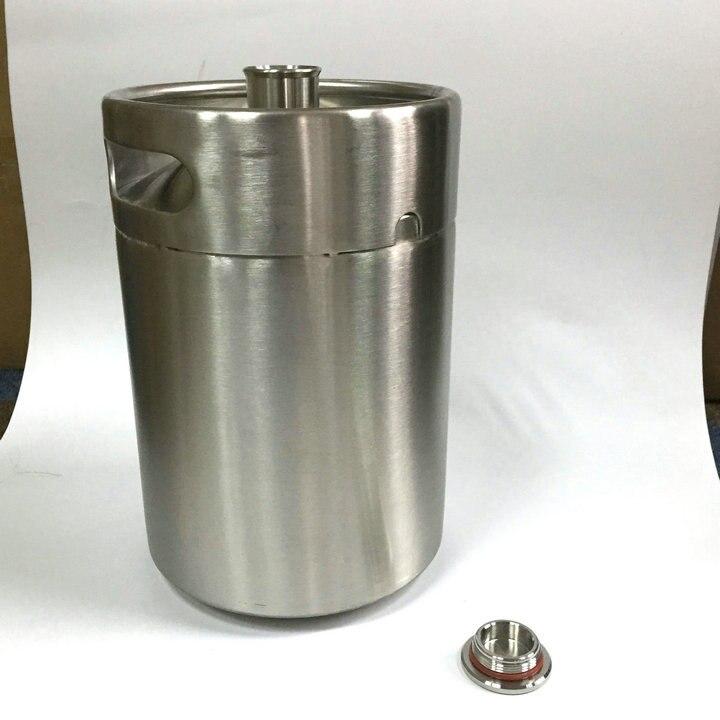 5 Liters Homebrew Growler stainless steel beer Tapping keg
