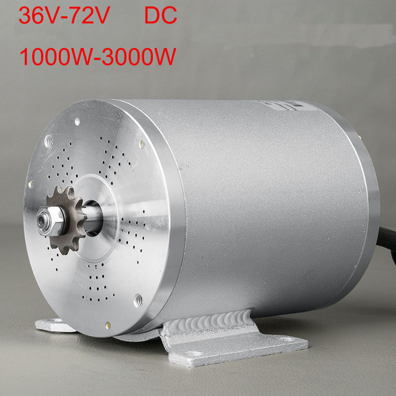 E-Bike Motor For Bicycle 48V 1500W Electric Motor on a Bicycle BLDC Motor Brushless Electric Motor For Scooter Electric Cycle