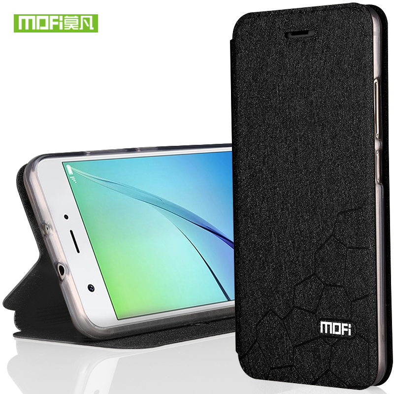 For Huawei Nova Phone Case Mofi Water Cube Design Fit All Around Shock Resistant Leather With