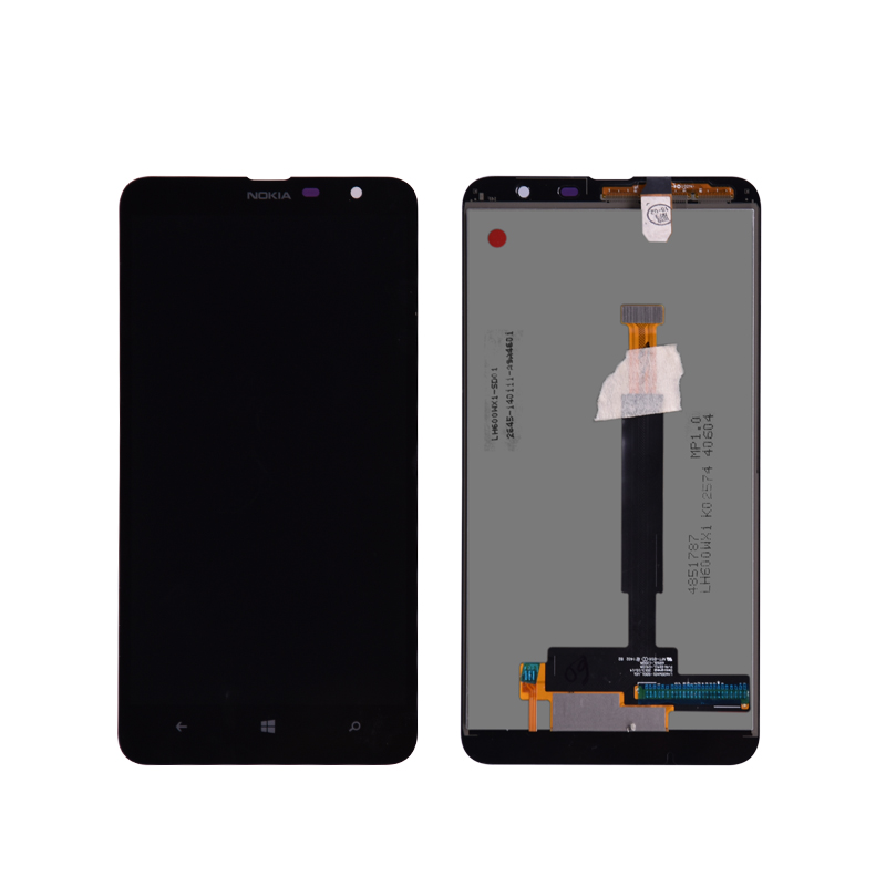 For Nokia Lumia 1320 LCD Display and Touch Screen Digitizer Assembly With Frame Free Shipping lumia 1320 lcd without frame