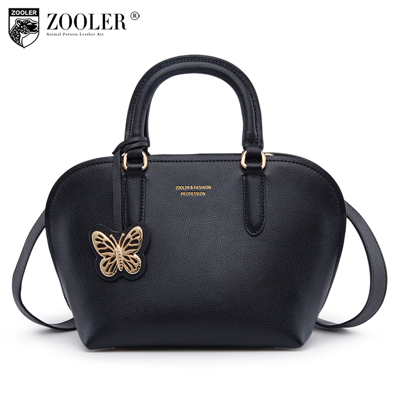 Hottest ZOOLER luxury handbags women bags designer genuine leather bags women designed butterfly zipper bag bolsa feminina #H165 hot knitting bag zooler genuine leather bag sheepskin shoulder bags luxury handbags women bags designer bolsa feminina b231