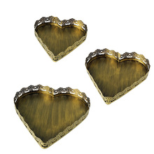 Free shipping Wrought iron heart shaped cake cupcake tray dessert serving display plate holder for wedding party