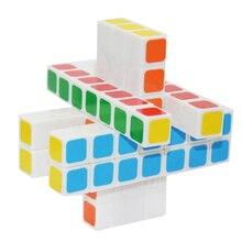 WitEden 3x3x7 Кубовидной Магия CubeSpeed Головоломки Cubo Magico Ребенок Взрослые Логические Обучающие Игрушки для детей