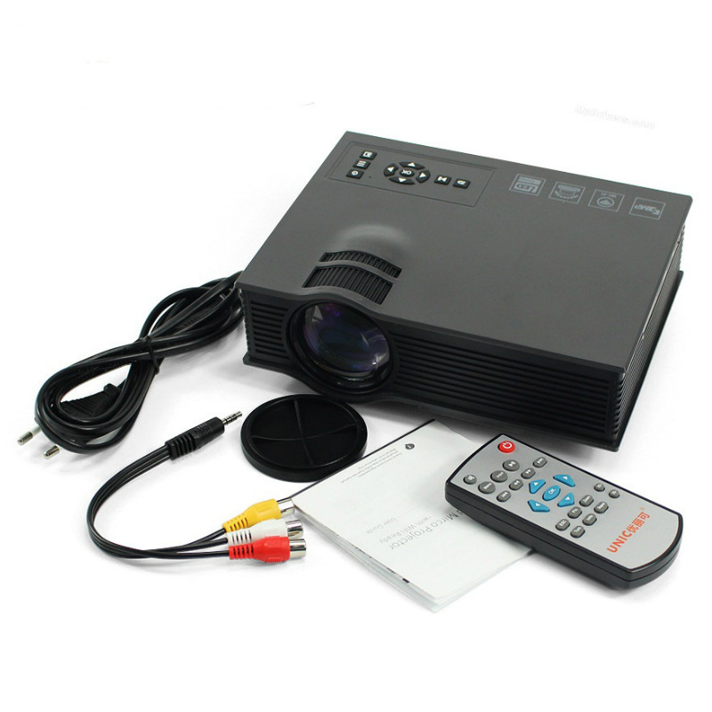 Best 2016 new arrival original unic uc46 mini projector for Best mini projector 2015