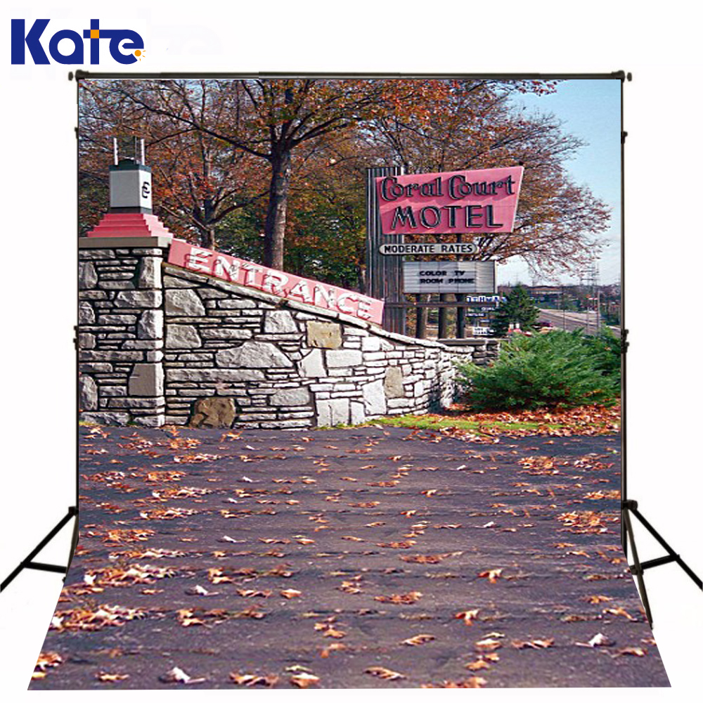 300Cm*200Cm(About 10Ft*6.5Ft) Fundo Deciduous Road Signs3D Baby Photography Backdrop Background Lk 1930 600cm 300cm fundo flower gate road house3d baby photography backdrop background lk 1710