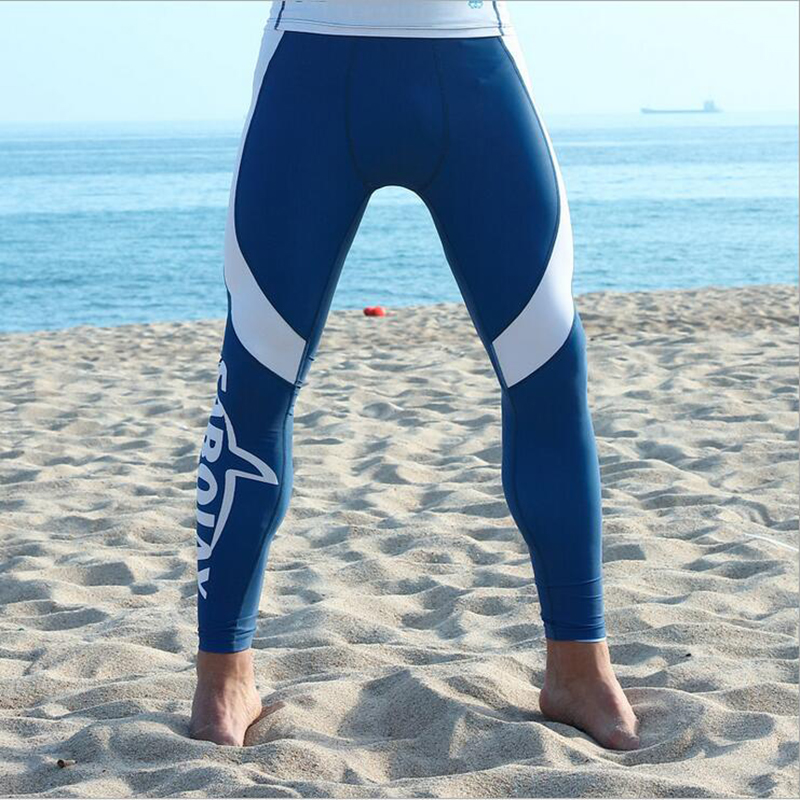 4040d4e0e9de8 SABOLAY Men Surfing Swimwear Surfiing Shorts Tights Sports Leggings Wetsuit  Radition Preventation Diving Long Snorkeling Pants-in Wetsuit from Sports  ...