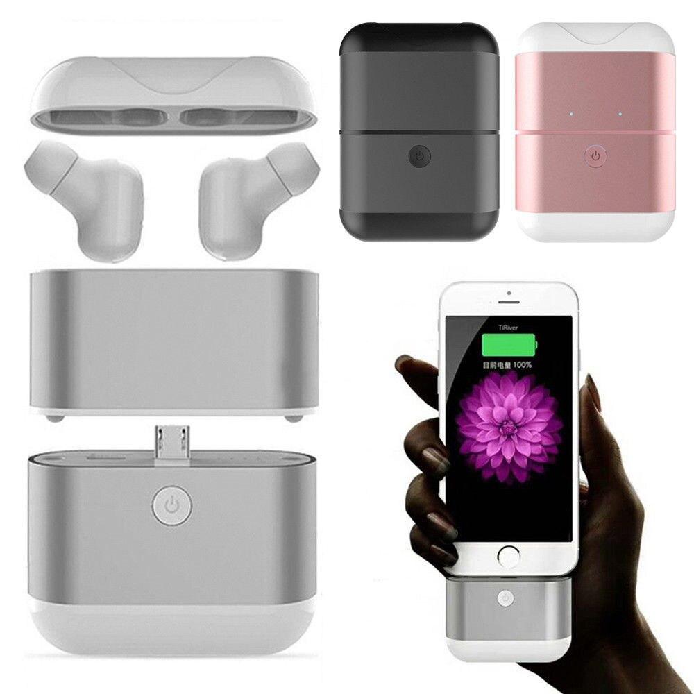 Haute qualité X2-TWS Binaural Bluetooth casque sans fil petite Mini prise d'oreille Invisible avec étui de charge pour téléphone intelligent