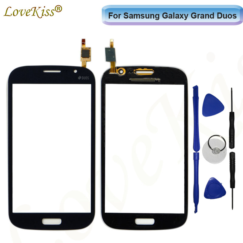 Para Samsung Galaxy Grande Duos GT i9080 i9082 Neo i9062 i9060 Plus i9060i Painel de Sensor De Toque De Tela Digitador Display LCD vidro
