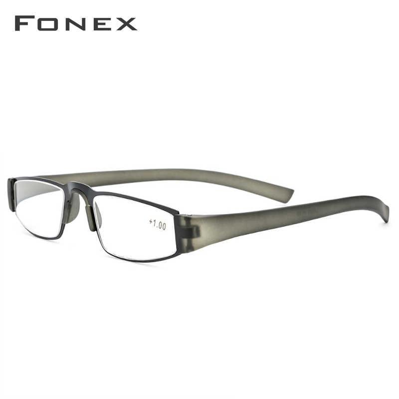 النساء الرجال نظارات للقراءة المتانة TR90 الترا ضوء مواد من الصمغ القراءة نظارات طويل النظر + 1.50 + 2.00 + 2.50 + 3.00 + 3.50 +