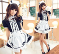 free shipping halloween costume Akihabara Coffee hall attendant maid Cosplay our maid cos animation women costume