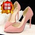 Mulheres high heel bombas shoes preto marinho verde rosa roxo moda saltos das senhoras sapatos de fundo vermelho