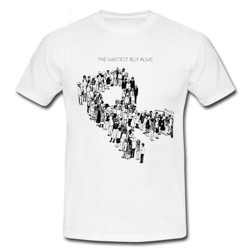 2018 Latest Fashion The Whitest Boy Alive Rules Burning Kings of Convenience T-shirt S M L XL 2XL