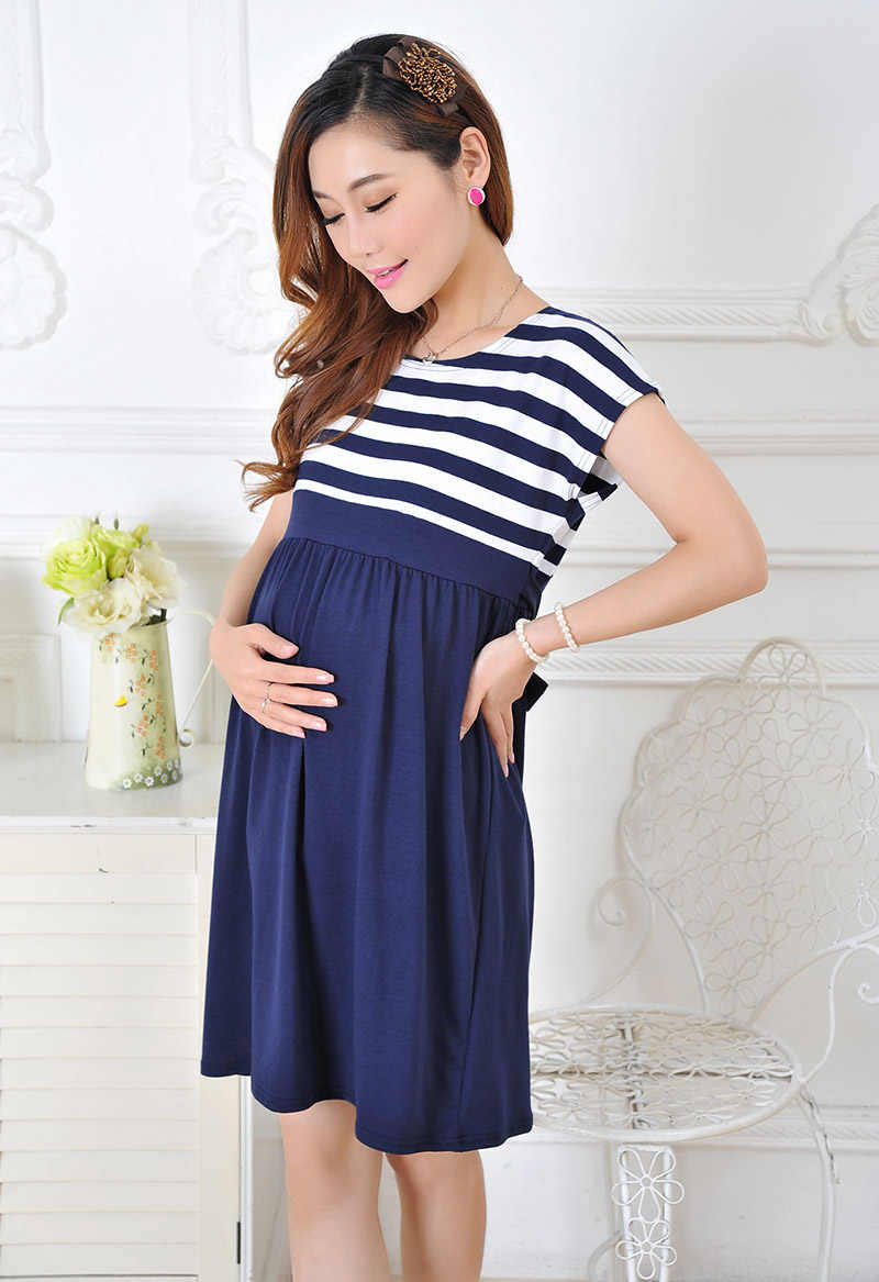 0aaa5cd50 SLYXSH New arrival women dresses for pregnant women breastfeeding nursing  clothes of mother clothing women
