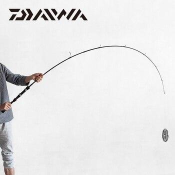 Nowy DAIWA LAGUNA Tyczki Przynęty Wędka M/MH Moc 1.68/1.8/1.98/2.1M Węgla Spinning Fishing Stick Tlenek Glinu Przewodniki