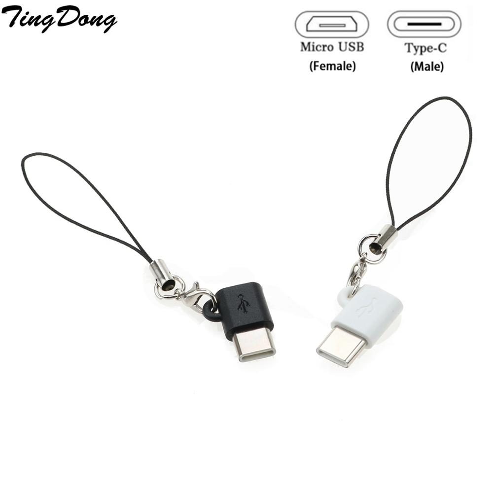 USB 3.1 Type C OTG Adapter Micro USB Female To Type C Male Converter For Samsung Galaxy Note 8 S8 Plus/A5/A7 2017/Oneplus 5t/5