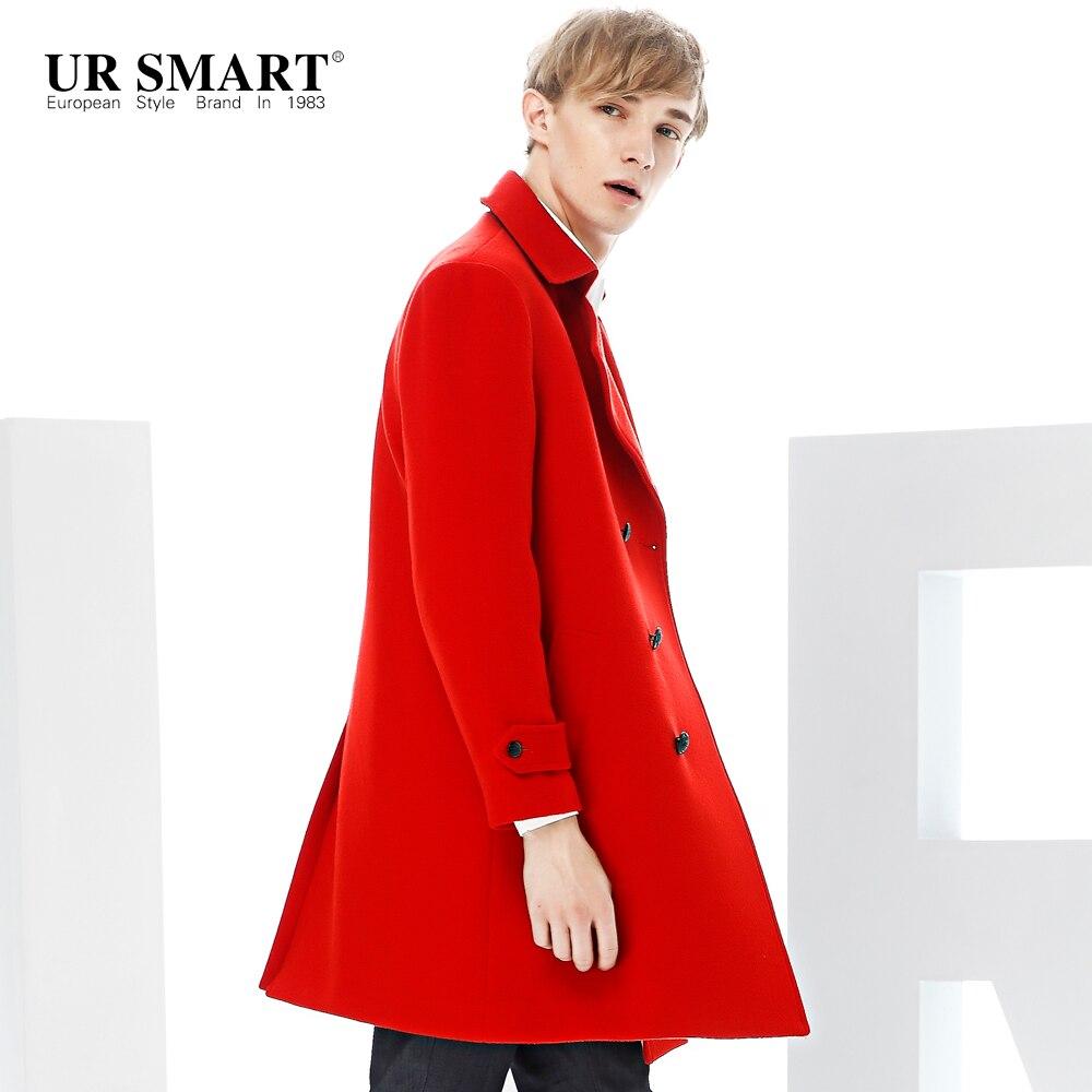 Popular Mens Red Wool Coat-Buy Cheap Mens Red Wool Coat lots from ...