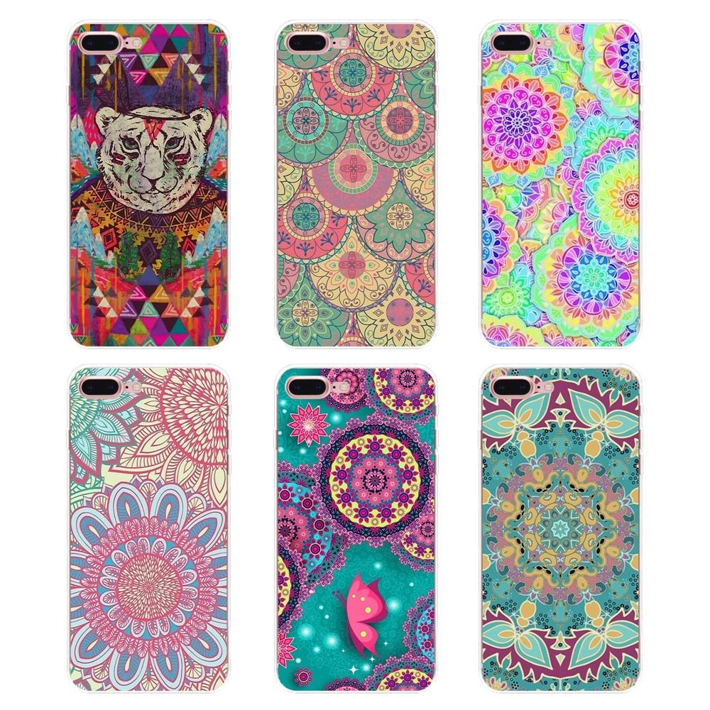 Cellphones & Telecommunications Intellective Phone Covers For Iphone Xs Max Xr X 4 4s 5 5s 5c Se 6 6s 7 8 Plus Samsung Galaxy J1 J3 J5 J7 A3 A5 Floral Paisley Flower Mandala