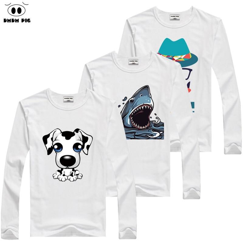 DMDM PIG Children's Clothing T-Shirt Kids Boys Clothes Baby Boy Girl Clothes Long Sleeve T-Shirts For Girls T Shirts For Boys