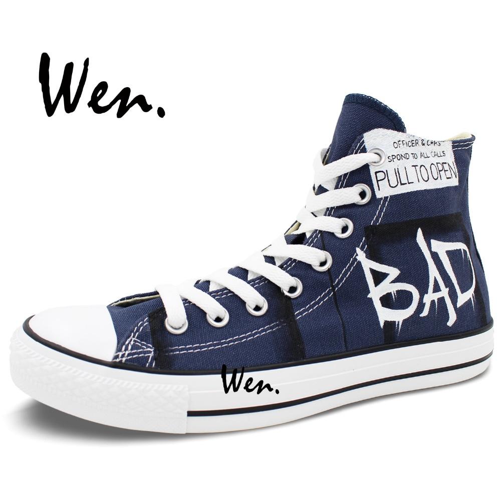 Wen Ručno oslikane cipele za dizajne Dizajn prilagođene liječnika - Tenisice - Foto 4