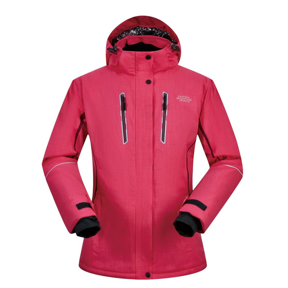 Ski Jacket Women Winter 2018 New Windproof Waterproof Breathable Thicken Warmth -30 Degree Clothes Snowboard Ski Jacket Brands