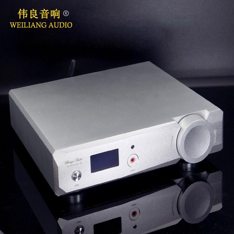 Su6 Hifi Dual Es9038q2m Dac 32bit Usb Dsd Native Dac Bluetooth 5,0 Apt-x Player Kopfhörer Verstärker Exquisite Verarbeitung In