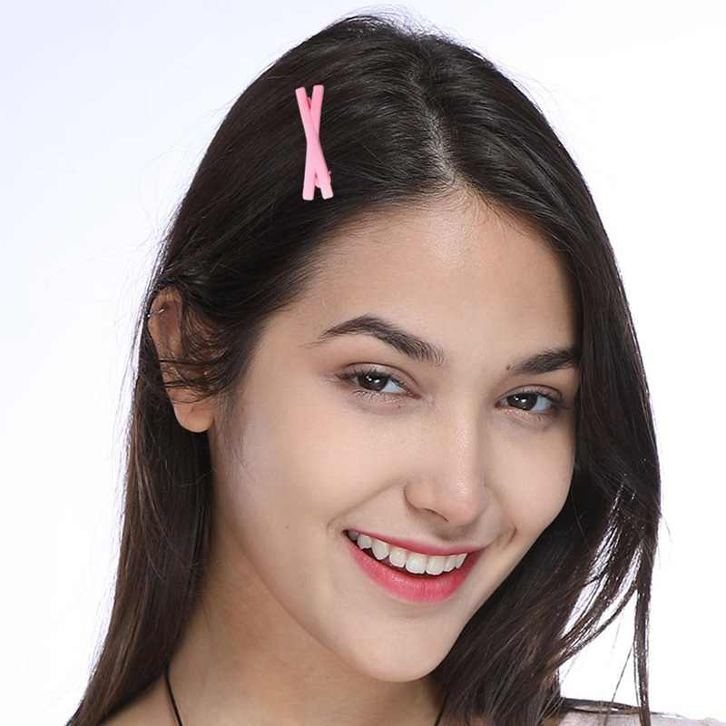 Scrub Candy Color pequeña horquilla de Cruz niñas niños Clips de pelo accesorios de hebilla para las mujeres Hairgrip Hairclip tocado sombreros