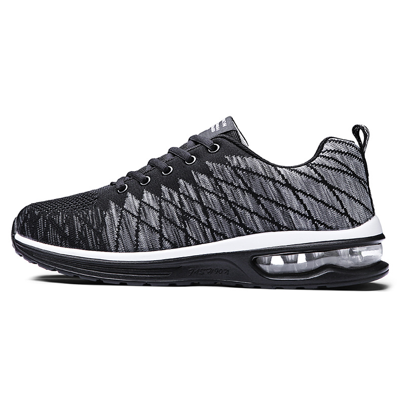 Sneakers Baseball-Shoes Woman Men Breathable Jogging-Shoes Wild-Cushions Flying Woven